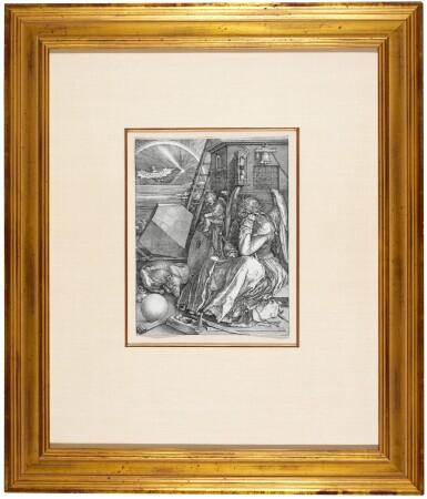 View 2. Thumbnail of Lot 6. Melencolia I (B. 74; M., Holl. 75).