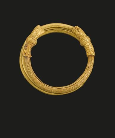 View 2. Thumbnail of Lot 78. AN ETRUSCAN GOLD HAIR-RING, CIRCA 700-600 B.C..