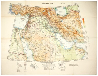 Arabia, a collection of sixteen maps, nineteenth-twentieth century