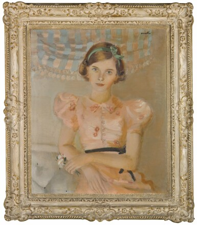 View 2. Thumbnail of Lot 82. Portrait of Lady Patricia, later Countess Mountbatten of Burma (1924-2017).
