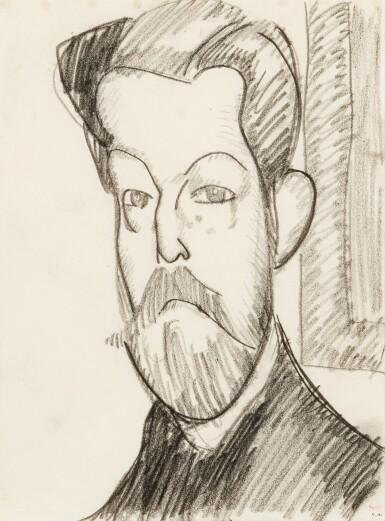 View 1. Thumbnail of Lot 13. Tête de Paul Alexandre de trois quart.