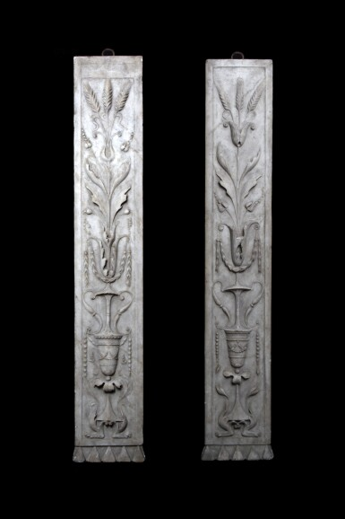 View 1. Thumbnail of Lot 127. Italian, 16th century | Pair of Pilasters.