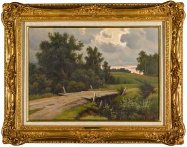 View 2. Thumbnail of Lot 147. Bridge over the River Voronka at Yasnaya Polyana.