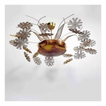 "A Rare ""Snowflake"" Ceiling Light, Model No. 10109"