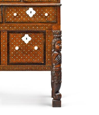 View 11. Thumbnail of Lot 106. Indo Portuguese, Goa, 17th century | 'Contador' Cabinet.