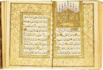 AN ILLUMINATED COLLECTION OF PRAYERS, COPIED BY IBRAHIM SUKUTI AND OSMAN B. DAMAD AL-'AFIF, TURKEY, OTTOMAN, DATED 1193 AH/1779-80 AD AND 1232 AH/1816-17 AD