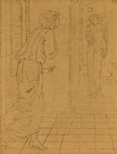 View 3. Thumbnail of Lot 13. SIR EDWARD COLEY BURNE-JONES, BT., A.R.A., R.W.S.   STUDIES FOR THE STORY OF PSYCHE.