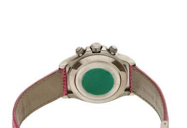 View 5. Thumbnail of Lot 210. Reference 116519 'Daytona Beach'  A white gold automatic chronograph wristwatch, Circa 2000.