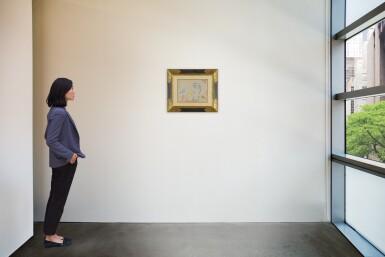View 4. Thumbnail of Lot 115. Le Peintre et son modèle (A Double-Sided Drawing).