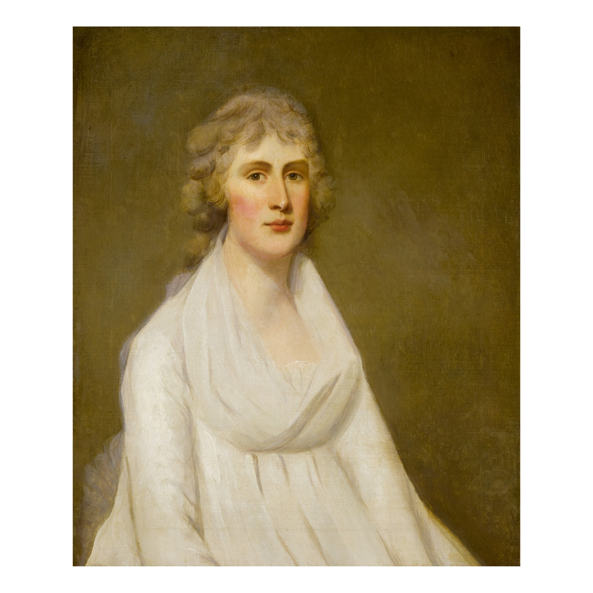 View full screen - View 1 of Lot 153. CIRCLE OF SIR HENRY RAEBURN, R.A. | PORTRAIT OF LADY SEATON.