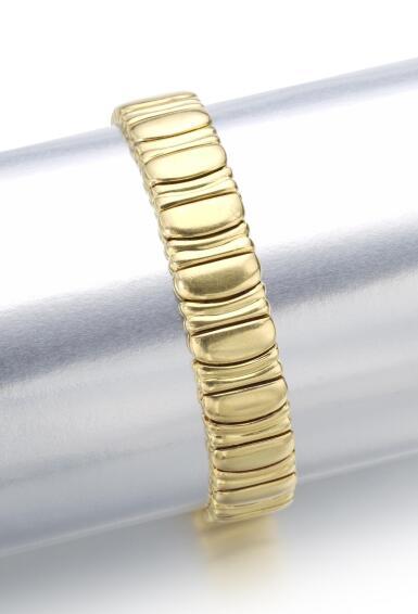 GOLD BRACELET, 'BAIGNOIRE'   CARTIER