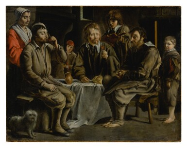 View 2. Thumbnail of Lot 52. The Peasant's Meal.