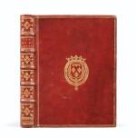 La Vie de Saint-Louis. Paris, 1689. Exemplaire de présent aux armes du Régent. Edition originale.