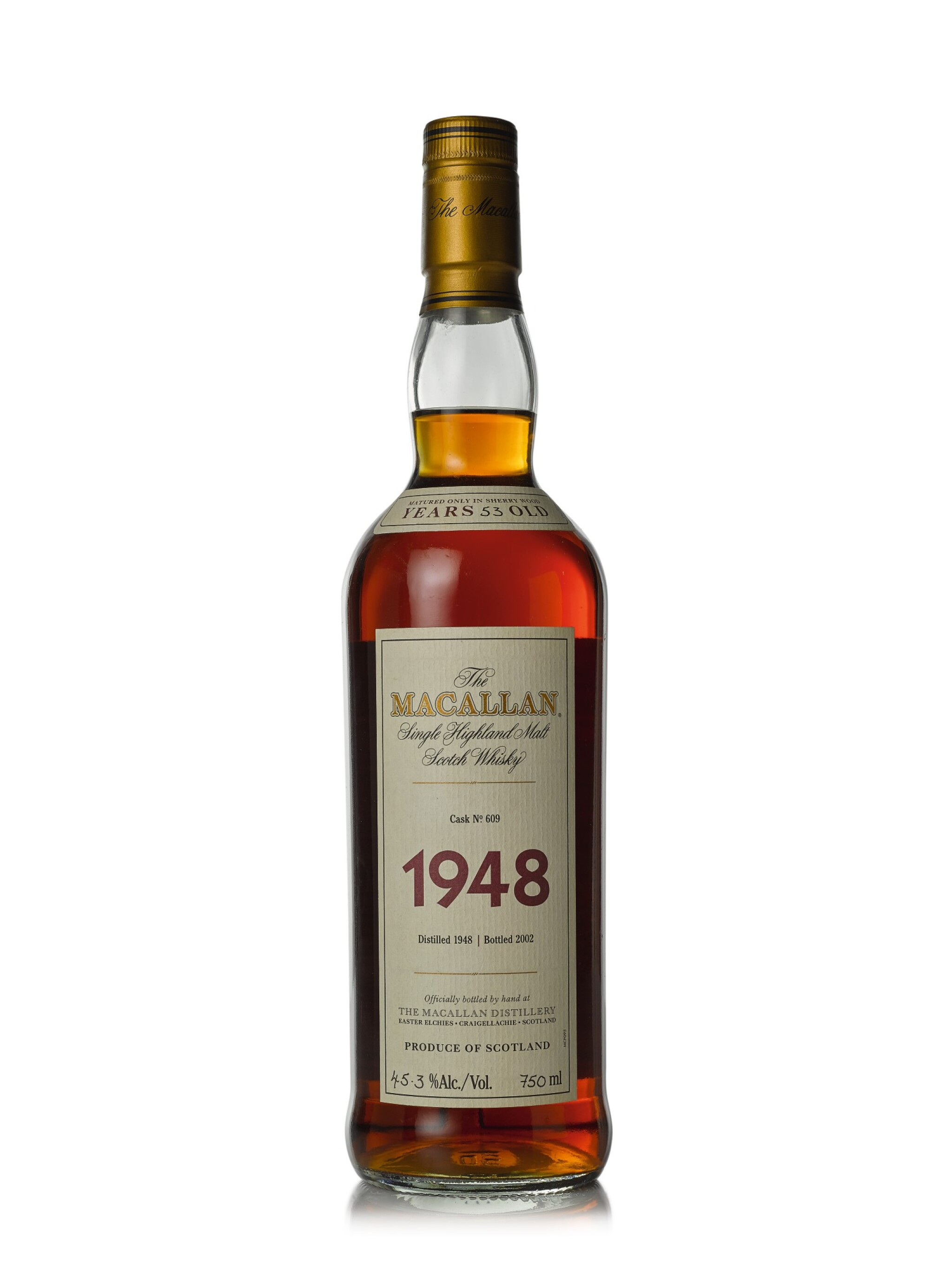 The Macallan Fine & Rare 53 Year Old 45.3 abv 1948 (1 BT75cl)