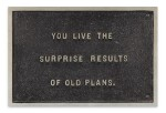 i : You Live the Surprise Results of Old Plans (from The Survival Series) ii : Truism stamps set