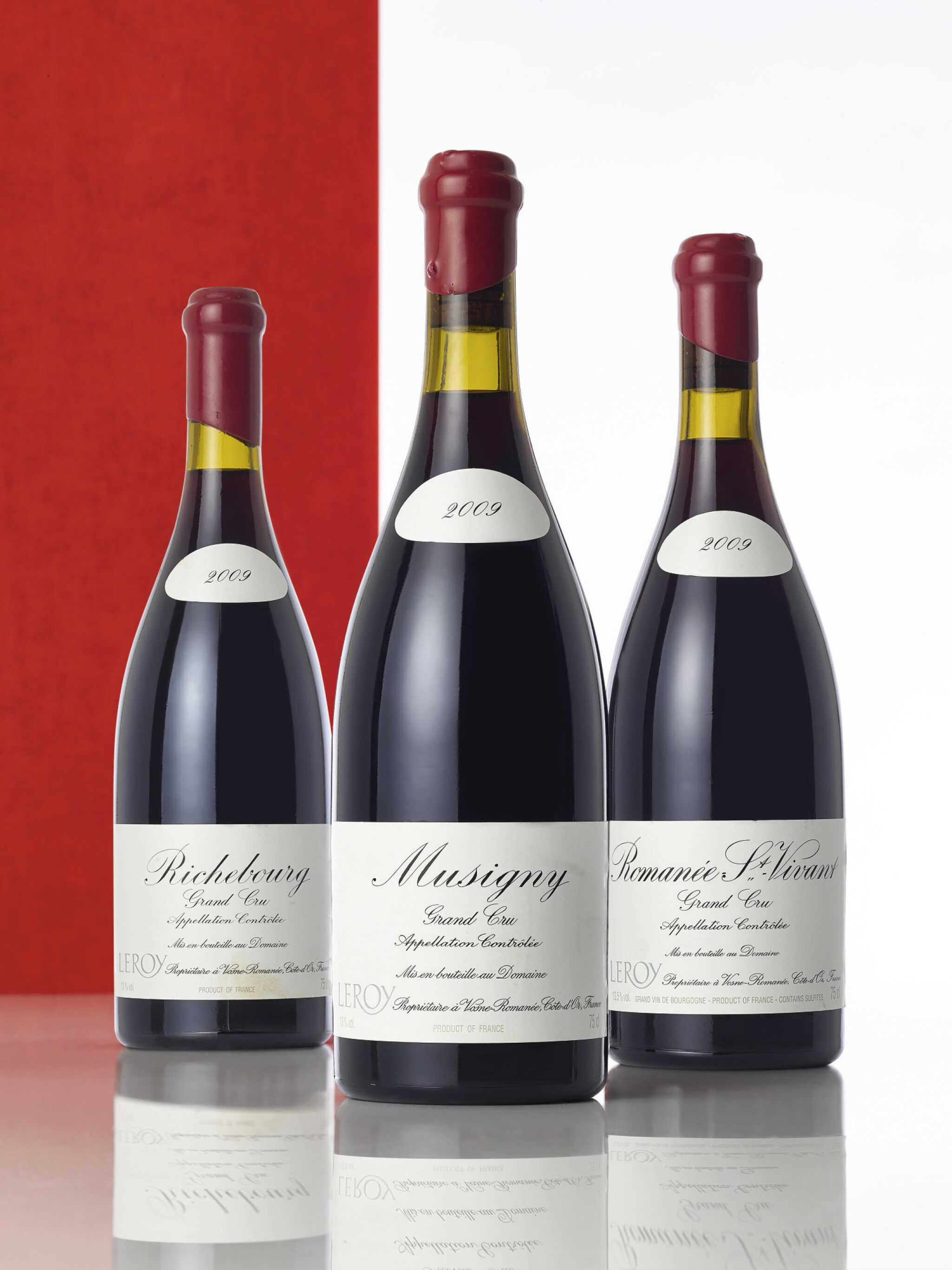 View full screen - View 1 of Lot 5354. Musigny 2009 Domaine Leroy (1 BT).