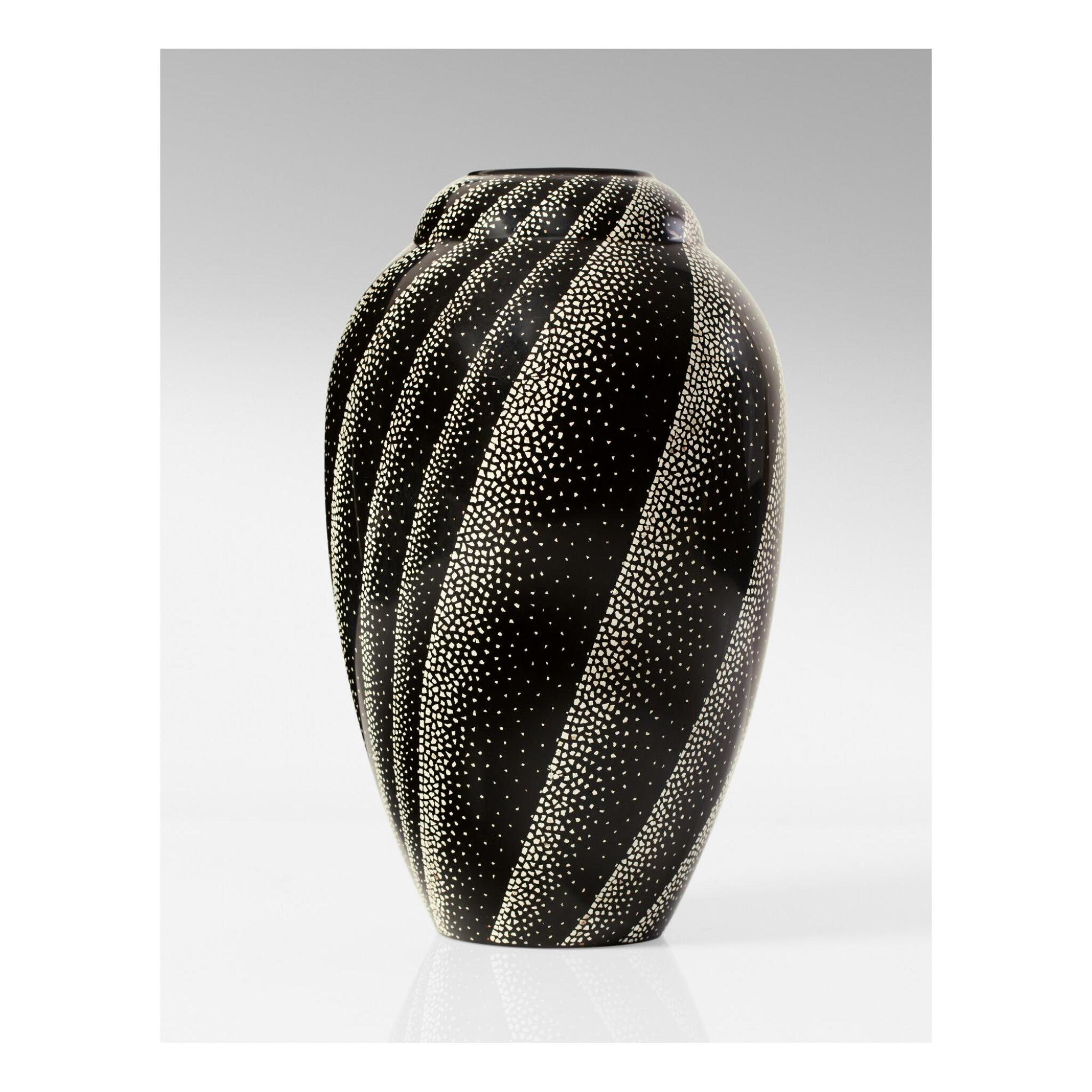 View full screen - View 1 of Lot 24. JEAN DUNAND   VASE.