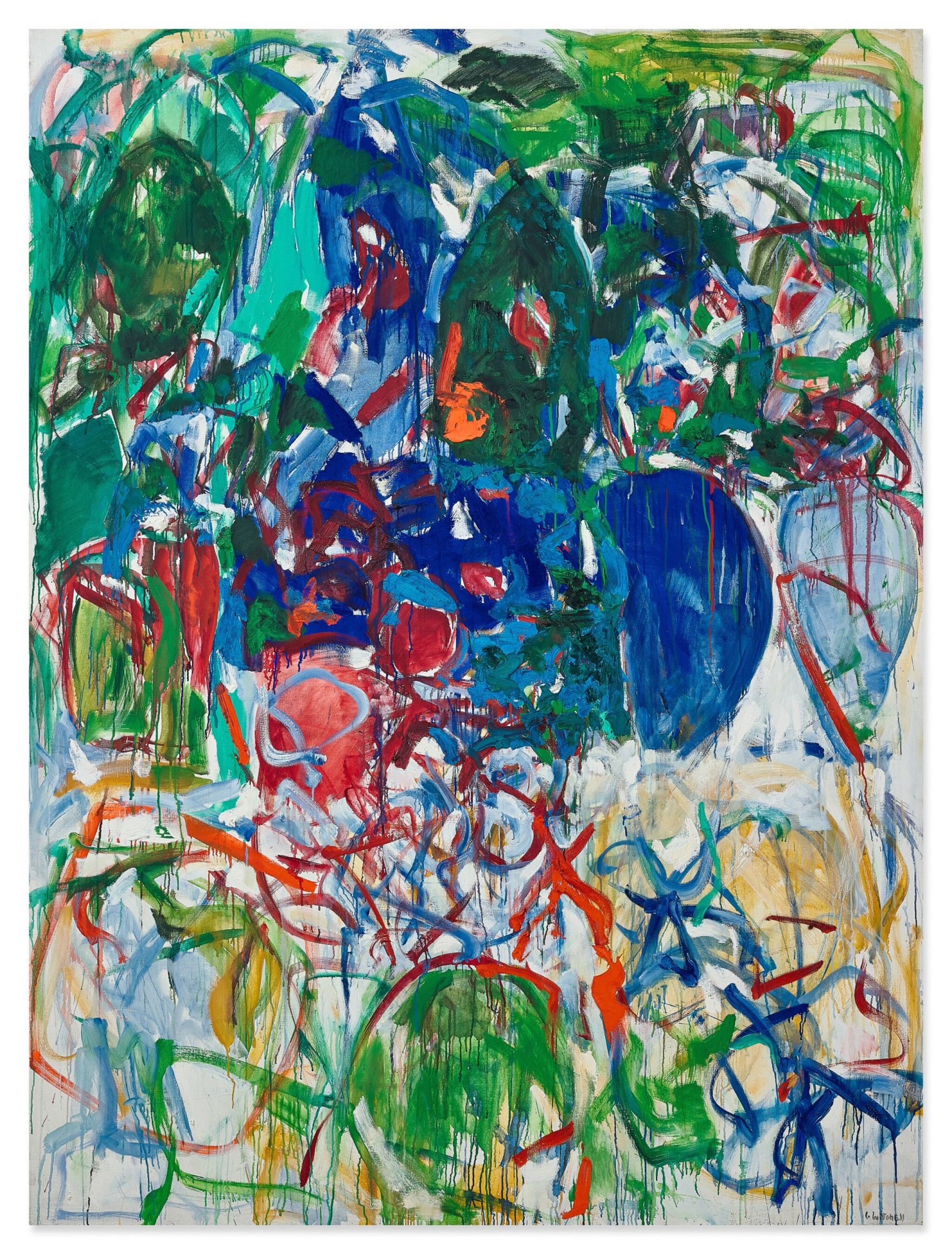 View full screen - View 1 of Lot 1114. Joan Mitchell 瓊・米切爾 | Untitled 無題.