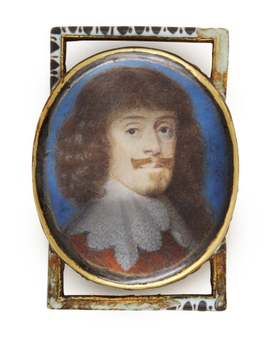 View 1. Thumbnail of Lot 92. Portrait of Prince William V of Hessen-Kassel (1602-1637).
