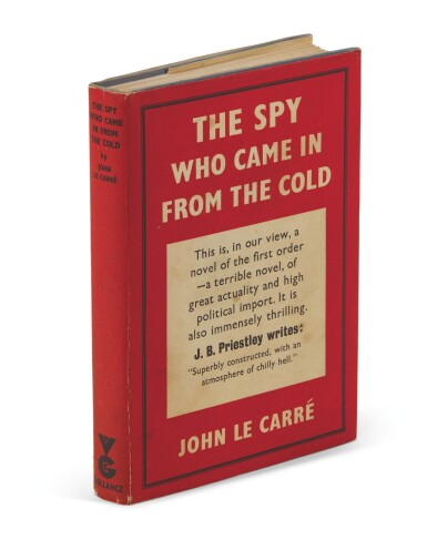 View 1. Thumbnail of Lot 127. Le Carré, The Spy Who Came in from the Cold, 1963.