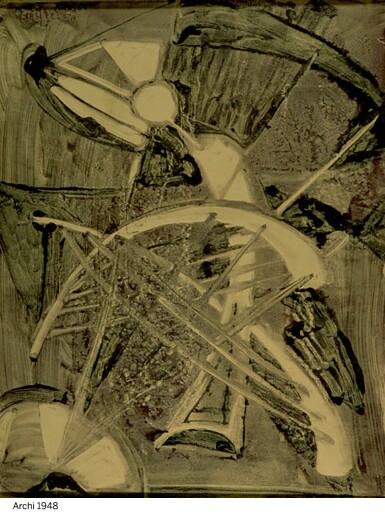 View 5. Thumbnail of Lot 174. Gem set brooch, 1953.