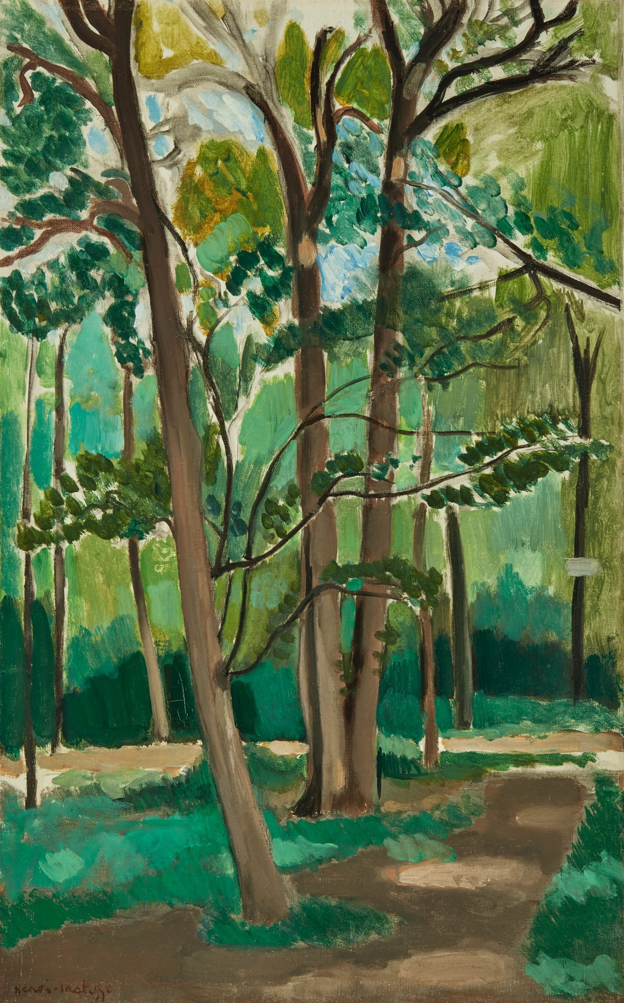 View full screen - View 1 of Lot 121. HENRI MATISSE | LE CARREFOUR DE MALABRY.