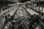 Churchgate Station, Western Railroad Line, Bombay, India