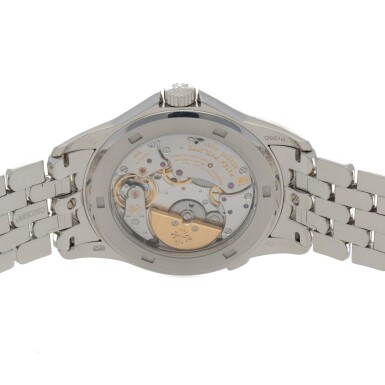 View 4. Thumbnail of Lot 342. WORLD TIME, REF 5131P PLATINUM WORLD TIME WRISTWATCH WITH BRACELET CIRCA 2018.