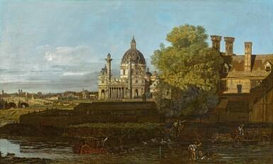 BERNARDO BELLOTTO AND STUDIO | VIENNA, A VIEW OF THE KARLSKIRCHE
