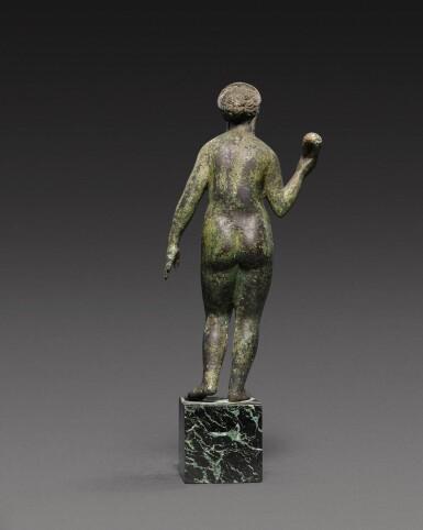 View 2. Thumbnail of Lot 49. A Roman Bronze Figure of Aphrodite, circa 2nd Century A.D..