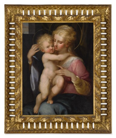 View 2. Thumbnail of Lot 544. EMILIAN SCHOOL, THIRD QUARTER 16TH CENTURY | THE MADONNA AND CHILD.