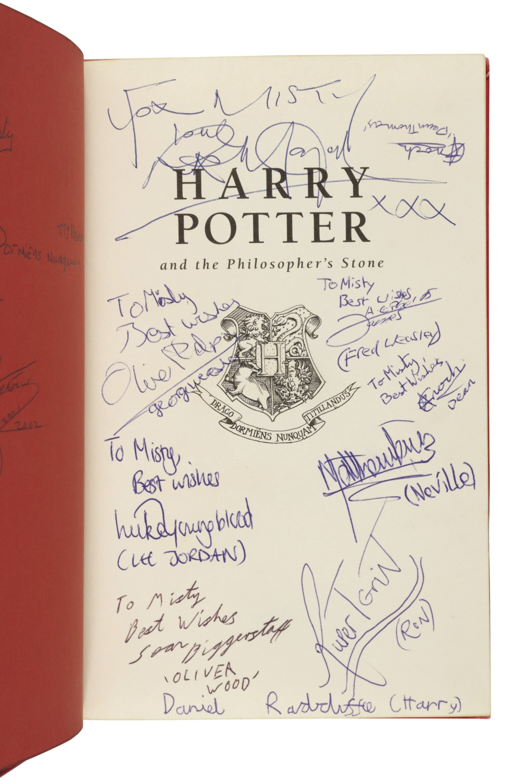 View full screen - View 1 of Lot 158. ROWLING, J.K.    Harry Potter and the Philosopher's Stone. London: Bloomsbury, 1999.