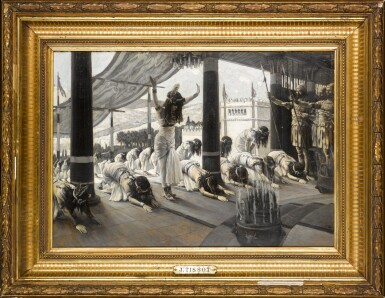View 2. Thumbnail of Lot 26.  The Queen of Sheba Visits Solomon.