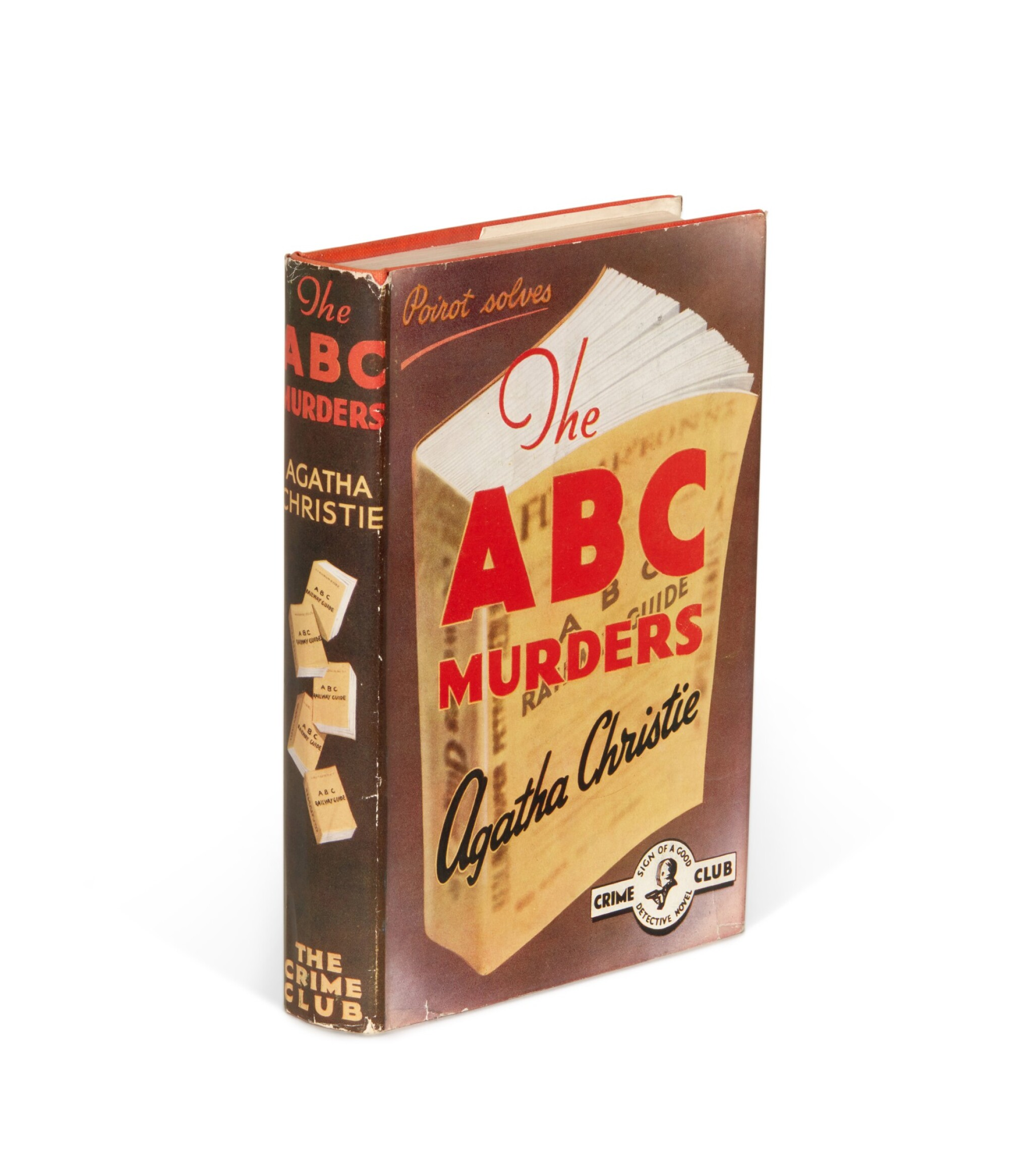 View full screen - View 1 of Lot 49. Agatha Christie   The ABC Murders, 1936.