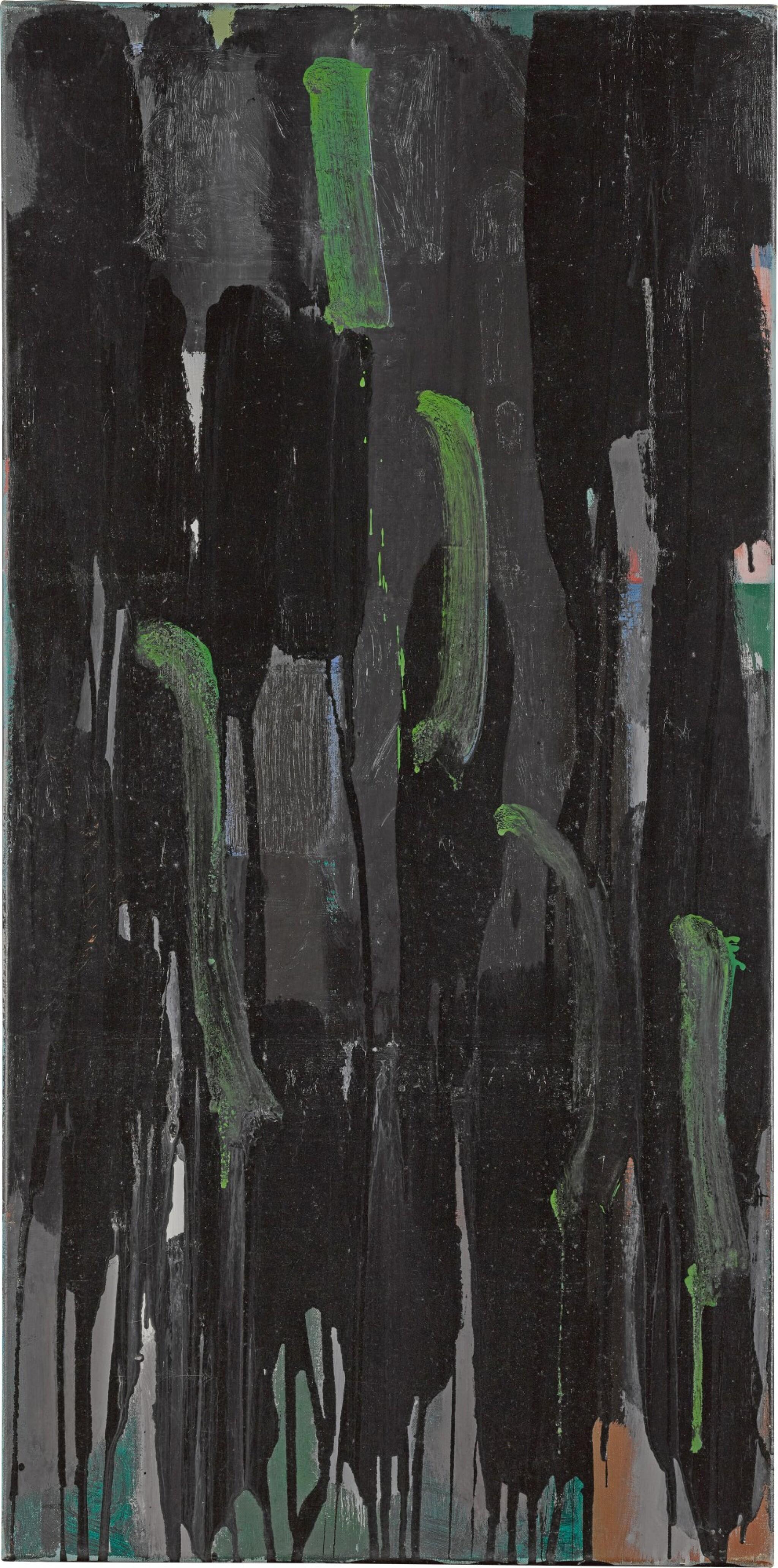 GREEN ON BLACKS : 1956