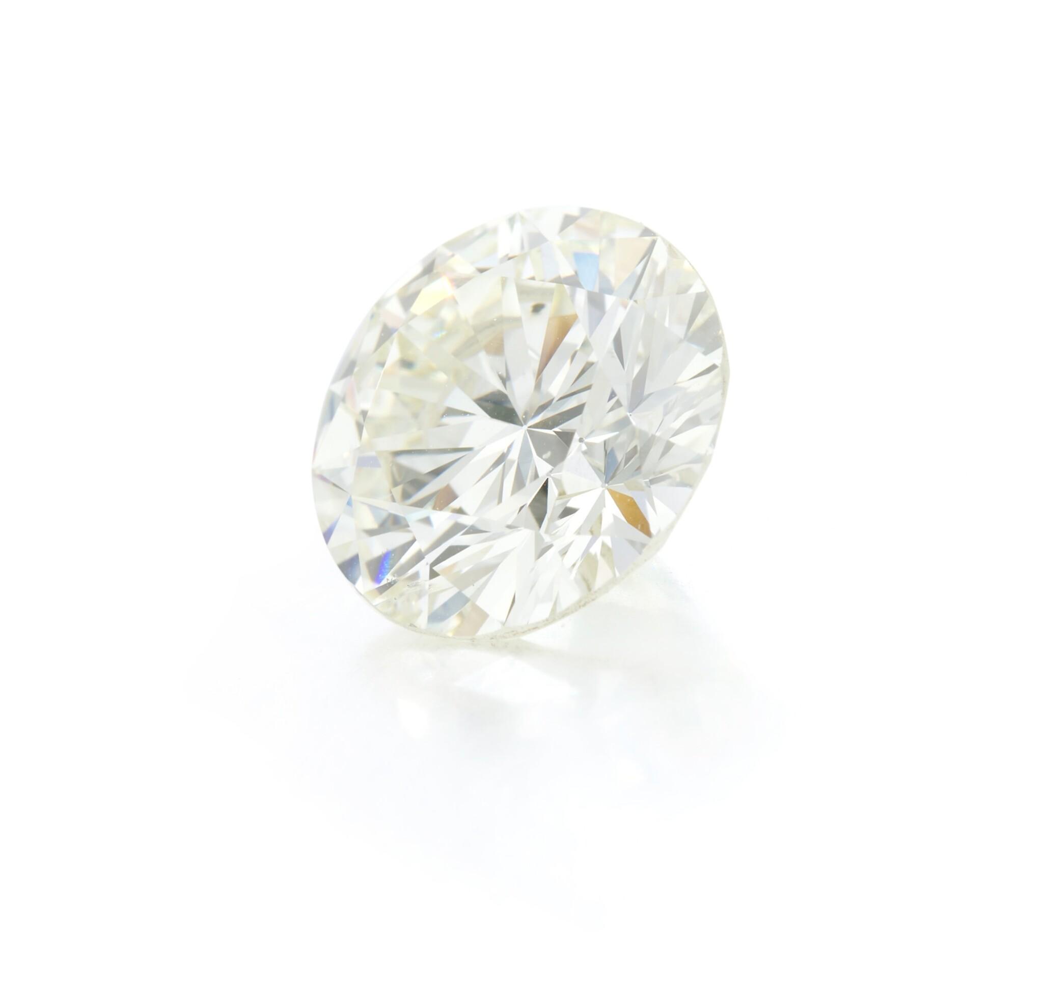View 1 of Lot 78. Diamond and ring mounting (Anello con diamanti).