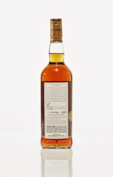 View 2. Thumbnail of Lot 9. The Macallan Fine & Rare 50 Year Old 50.8 abv 1952 (1 BT75cl).