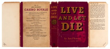 View 2. Thumbnail of Lot 11. FLEMING   Live and Let Die, 1954, first edition, presentation copy inscribed to Winston Churchill.