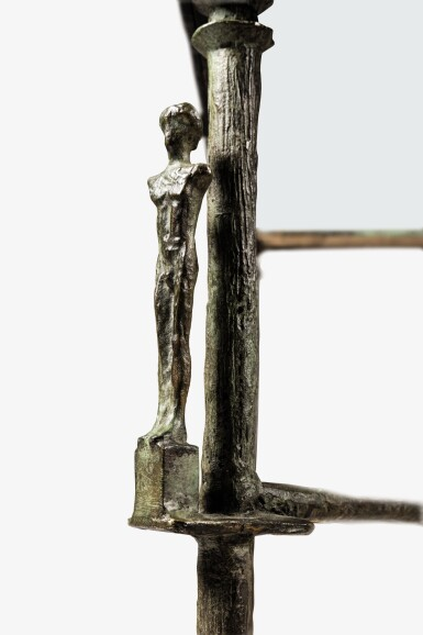 View 3. Thumbnail of Lot 107. DIEGO GIACOMETTI | CARIATIDES TABLE  [TABLE AUX CARIATIDES].