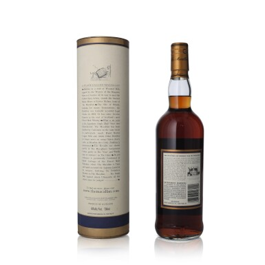 View 2. Thumbnail of Lot 21. The Macallan 18 Year Old 43.0 abv 1983 (1 BT75).