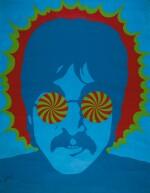 LARRY SMART | Kaleidoscope Eyes, John Lennon, original poster from the Apple Boutique