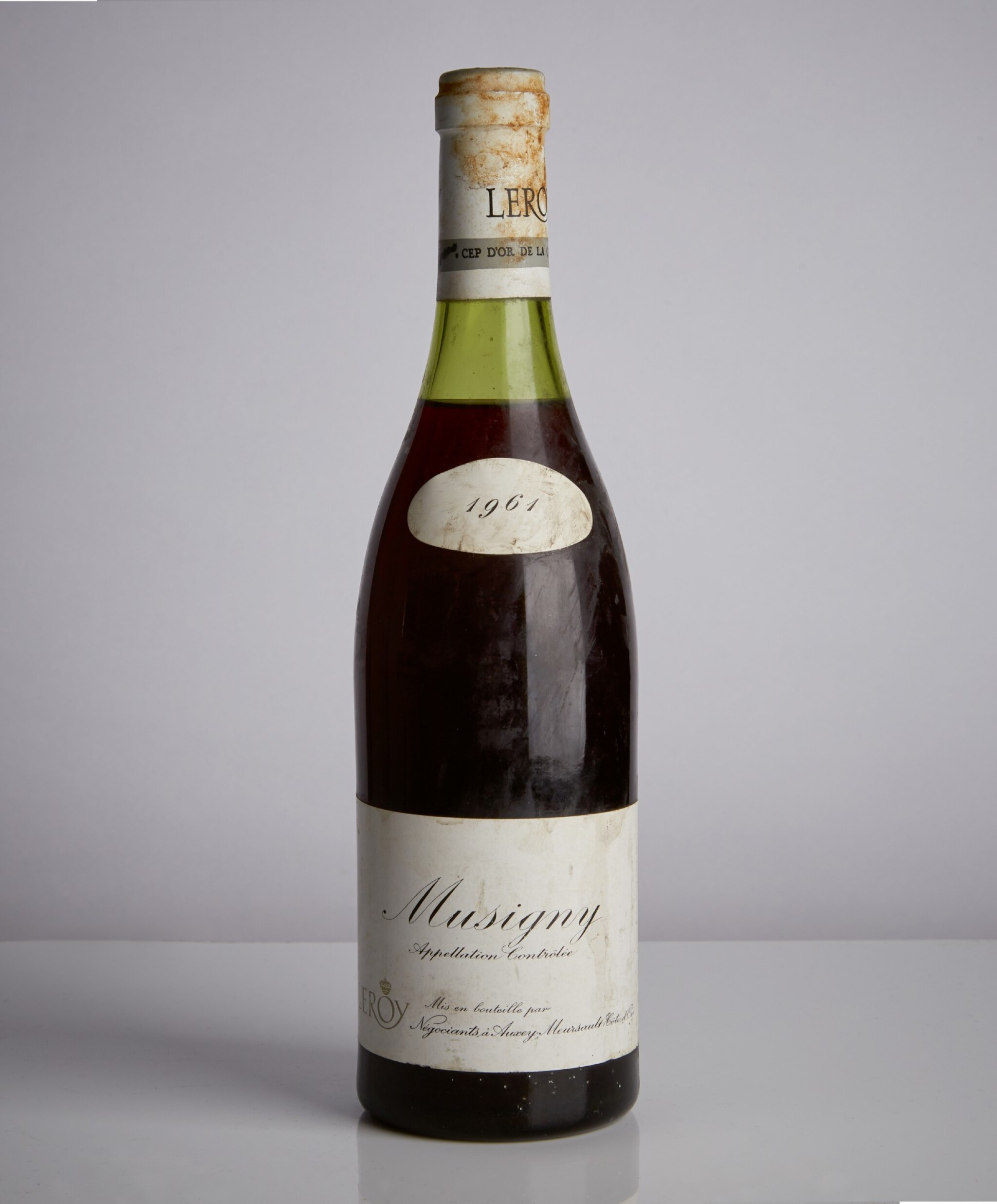 View full screen - View 1 of Lot 92. Musigny 1961 Maison Leroy (1 BT).