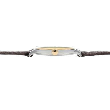 View 5. Thumbnail of Lot 52. Retailed by Hausmann: Ref. 530 Stainless steel and yellow gold wristwatch Circa 1942 | 百達翡麗|零售商為Hausmann:530型號精鋼及黃金腕錶,年份約1942.