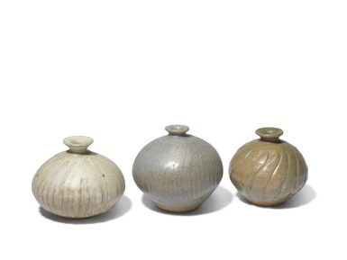 KATHARINE PLEYDELL-BOUVERIE |  THREE SMALL VASES