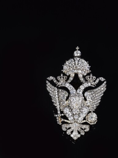 View 10. Thumbnail of Lot 166. Important diamond brooch, late 19th century | 鑽石別針,十九世紀末.