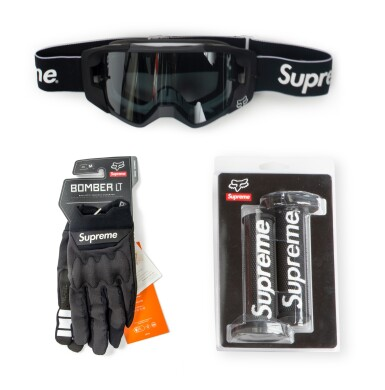 SUPREME FOX RACING BLACK [5 PIECES]