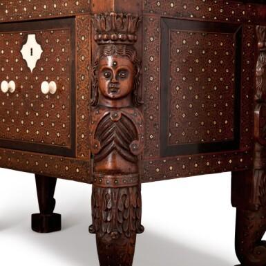 View 3. Thumbnail of Lot 106. Indo Portuguese, Goa, 17th century | 'Contador' Cabinet.