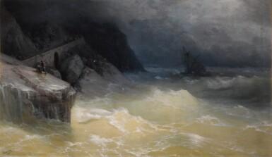 View 1. Thumbnail of Lot 28. Shipwreck off the Black Sea Coast.