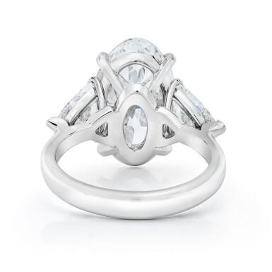 View 3. Thumbnail of Lot 15. Diamond Ring.