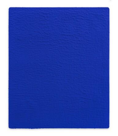 View 1. Thumbnail of Lot 3. Monochrome bleu sans titre (IKB 19)            .